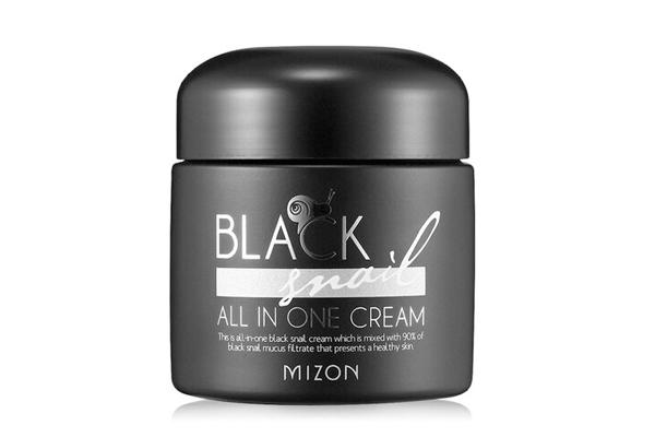 Kem dưỡng tái tạo da từ chất nhờn ốc sên đen Mizon Black Snail All in One Cream