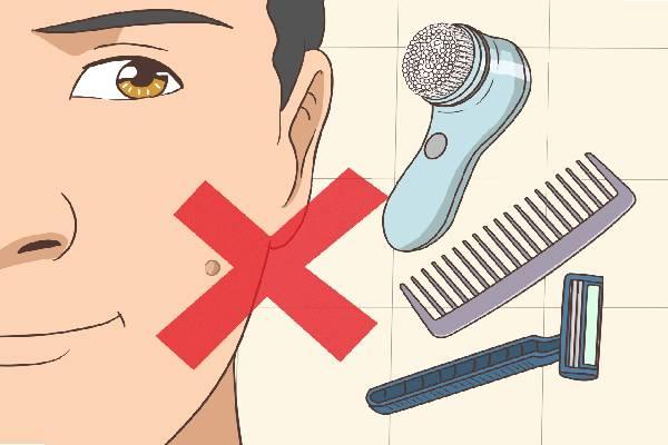 Không sử dụng đồ dùng cá nhân chung để tránh lây bệnh mụn cóc