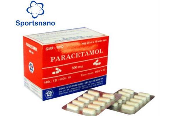 Thuốc Paracetalmol