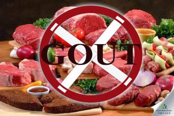 Thực phẩm nhiều purin rất có hại cho người bị gout