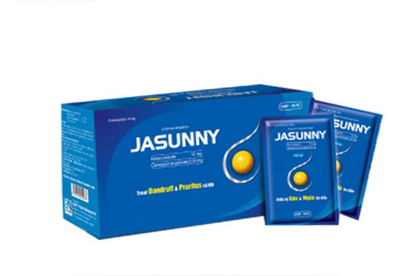 Thuốc trị nấm da đầu Jasunny cực kỳ hiệu quả