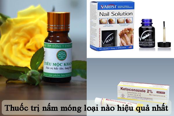 Người bệnh nên sử dụng loại thuốc trị nấm móng nào?