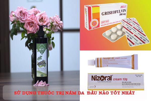 Các loại thuốc trị nấm da đầu phổ biến hiện nay