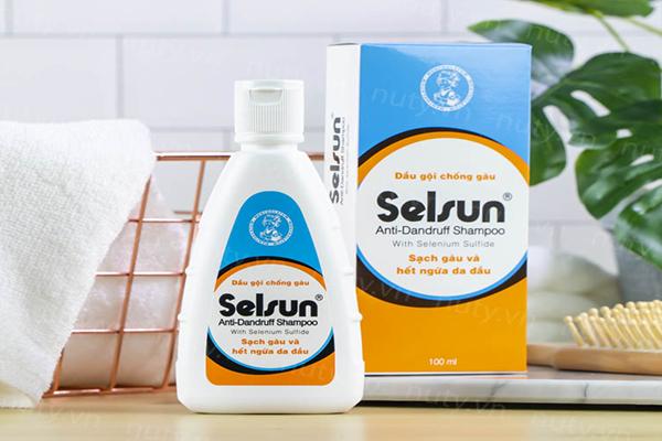Dầu gội trị nấm da đầu Selsun được sản xuất tại Việt Nam