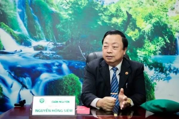 Chủ tịch hội Đông y Hà Nội - Cố vấn Đông y Chân Nguyên Nguyễn Hồng Siêm