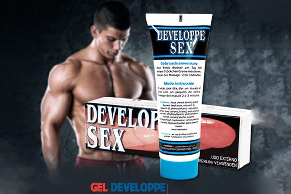 Gel tăng kích thước dương vật Developpe Sex