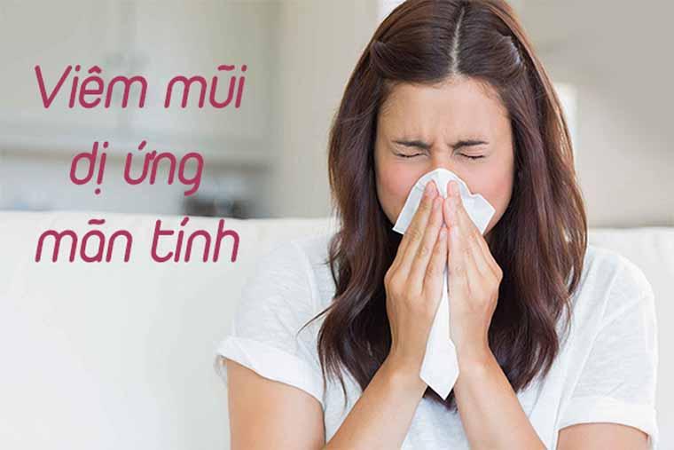 Bệnh viêm mũi mãn tính
