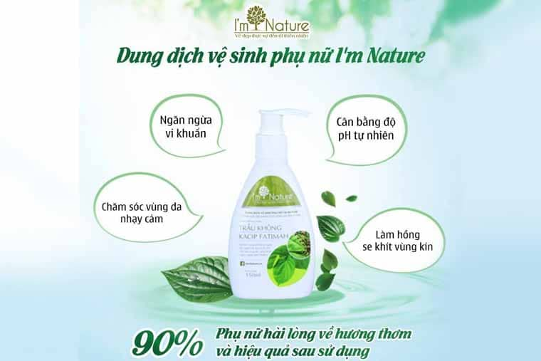 Dung dịch vệ sinh I'm Nature