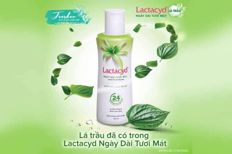 Dung dịch vệ sinh phụ nữ Lactacyd