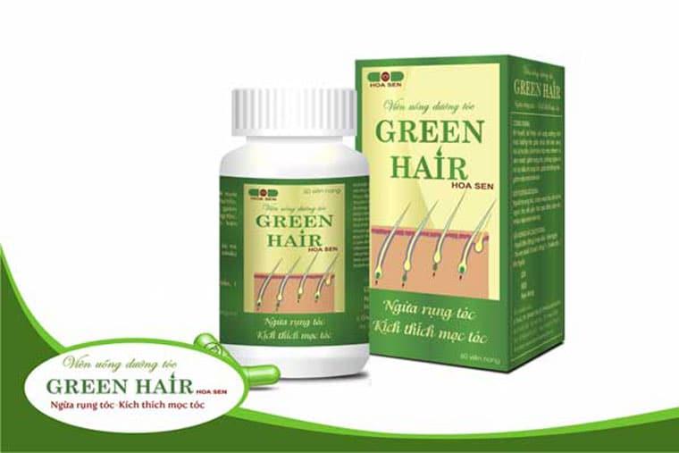 Sản phẩm Green Hair Hoa Sen