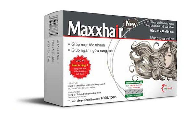 Thực phẩm chức năng Maxxhair