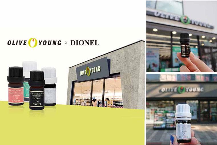 Nước hoa Dionel có xuất xứ từ Hàn Quốc