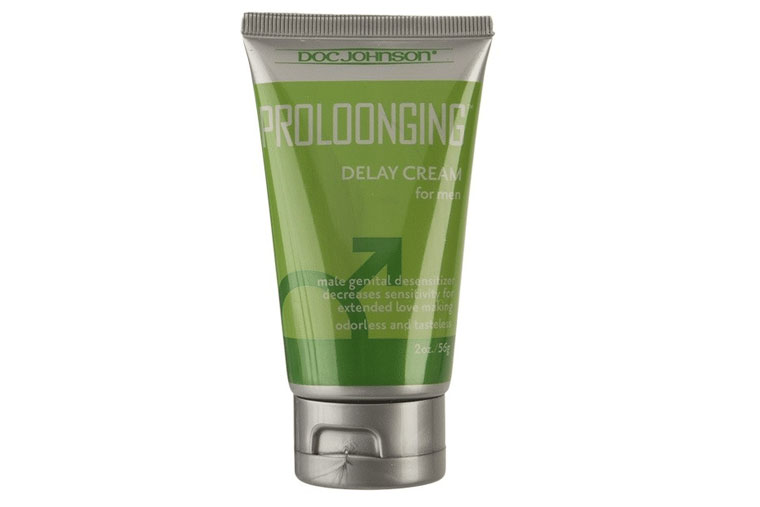 Sản phẩm gel bôi trơn chống xuất tinh sớm Proloonging Delay Cream nồng độ Benzocaine