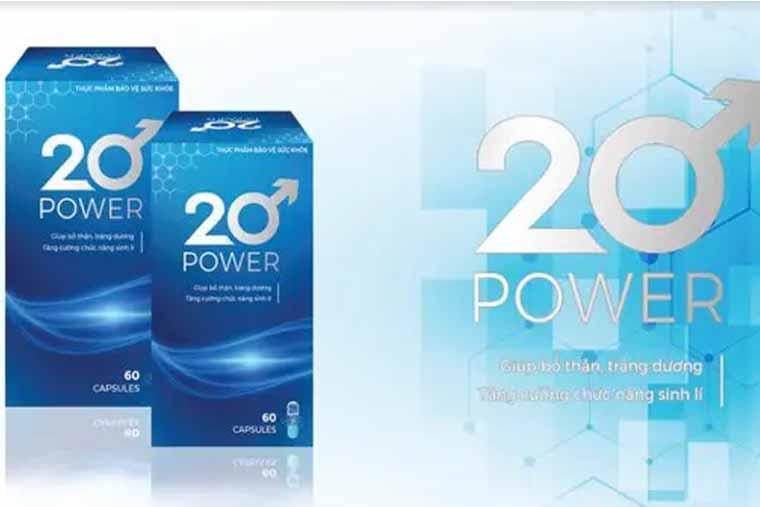Thực phẩm chức năng 20 power