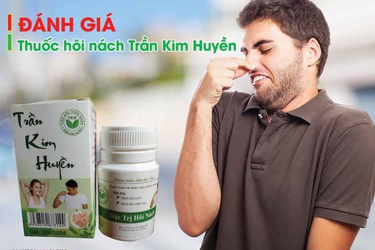 Thuốc trị hôi nách Trần Kim Huyền
