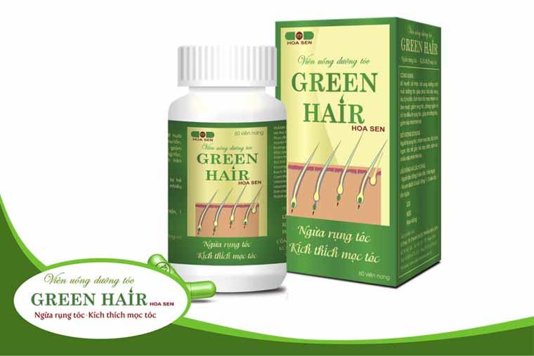 Thuốc trị rụng tóc Green Hair