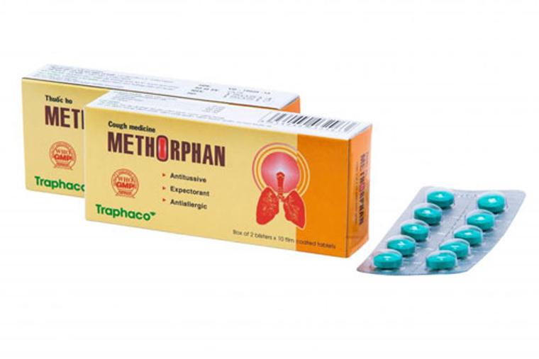 Thuốc ho Methorphan dạng viên ngậm
