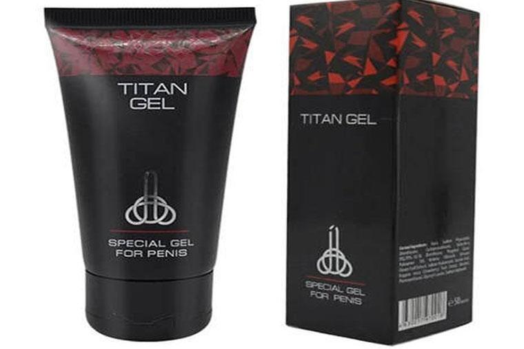 Titan - gel bôi trơn chống xuất tinh sớm xuất Nga chiết xuất thiên nhiên an toàn