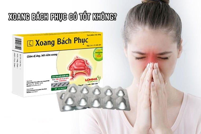 Hình ảnh thuốc Xoang bách phục