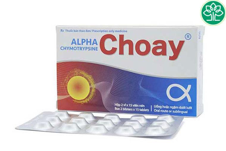 Thuốc giảm xung huyết alpha choay