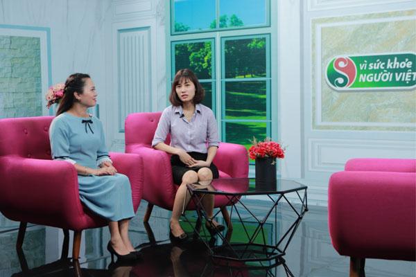 BS: Phượng chia sẻ về kiến thức chữa bệnh da liễu trong chương trình vì sức khỏe người Việt vtv2