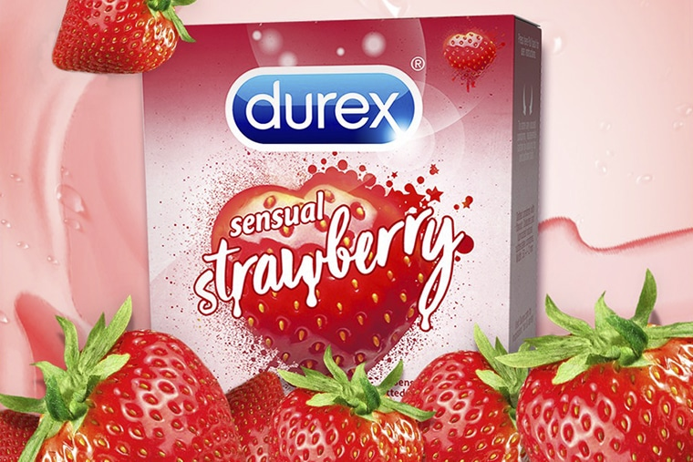 Durex Sensual Strawberry