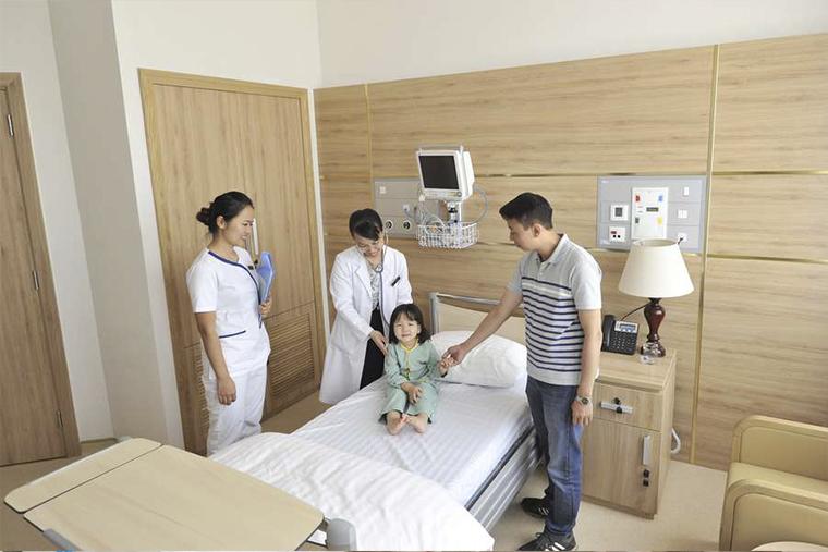 Khu vực chăm sóc trẻ