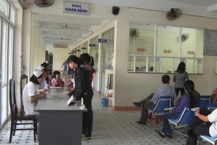 Hình ảnh khoa khám bệnh tại bệnh viện Da liễu thành phố Đà Nẵng