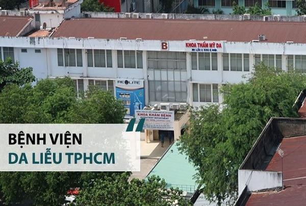 Bệnh viện Da liễu TP Hồ Chí Minh là nơi chữa tổ đỉa uy tín