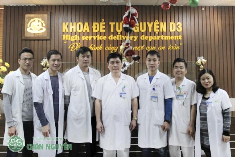 Đội ngũ y bác sĩ khoa đẻ tự nguyện D3