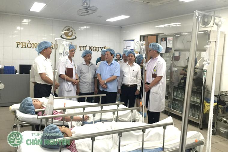 Bệnh viện đã trở thành địa chỉ uy tín của nhiều người dân thủ đô