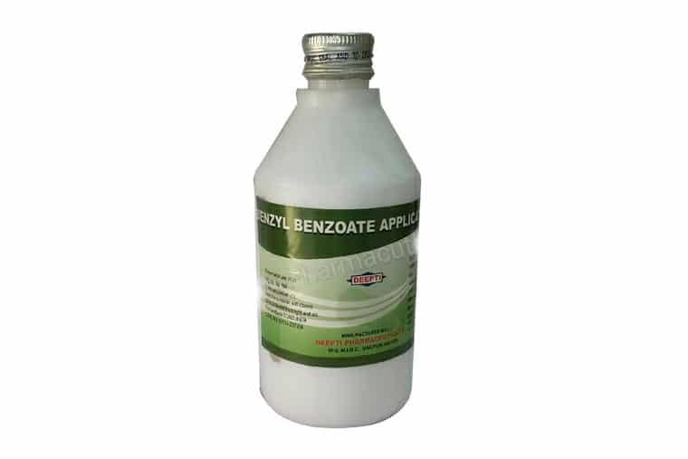 Hình ảnh benzyl benzoate 25%