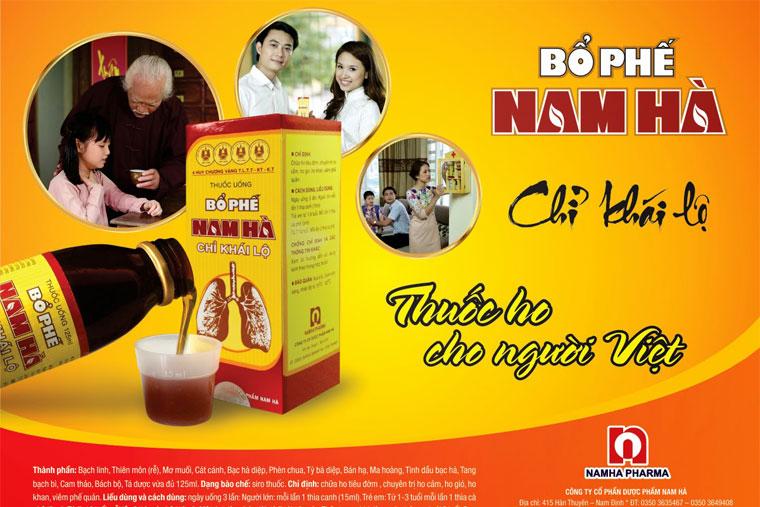 BPNH thuốc ho cho người Việt