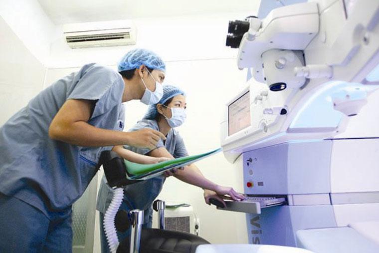 Bệnh viện Bình Dân có thiết bị hiện đại nhưng chi phí dịch vụ khám chữa tương đối rẻ