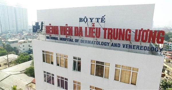 Bệnh viện Da liễu Trung ương là cơ sở uy tín tại Hà Nội