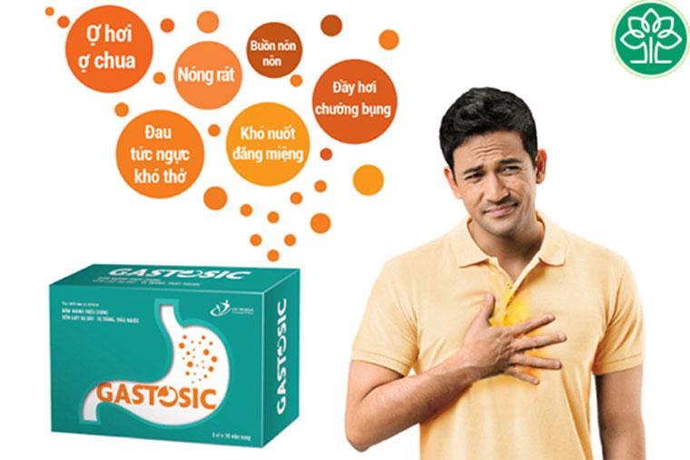 Sản phẩm Gastosic mang lại rất nhiều công dụng chữa bệnh hiệu quả