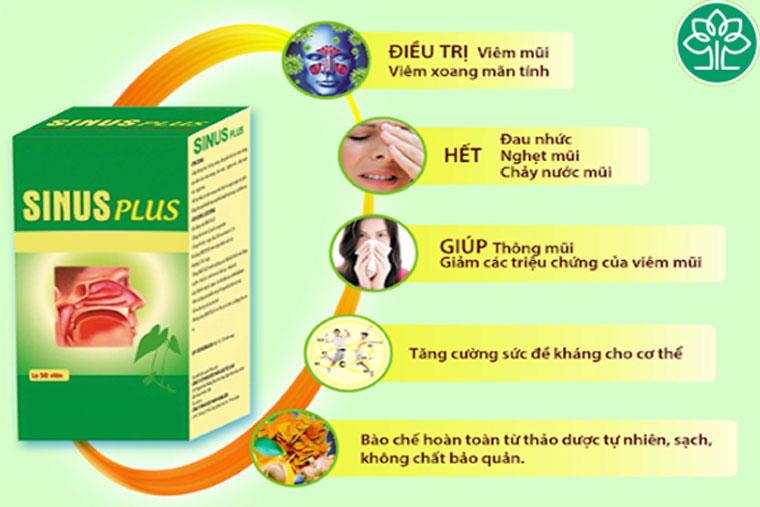 Công dụng của Sinus Plus