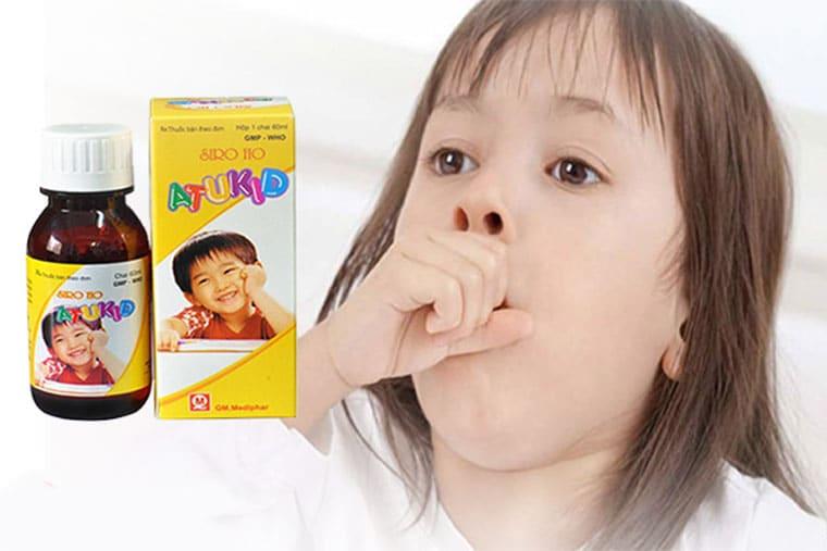 Thuốc ho atukid đặc trị các bệnh về ho ở trẻ