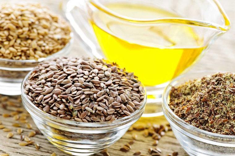Sử dụng dầu hạt lanh chữa bệnh eczema