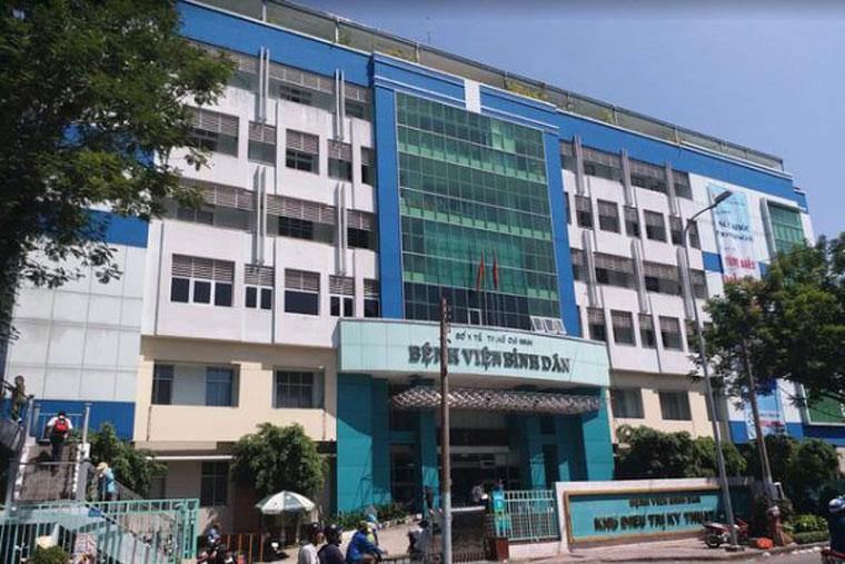 Điều trị xuất tinh sớm ở bệnh viện Bình Dân mang lại hiệu quar tốt, an toàn cho người bệnh