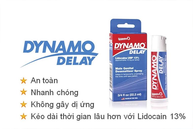 Công dụng chai Xịt Dynamo