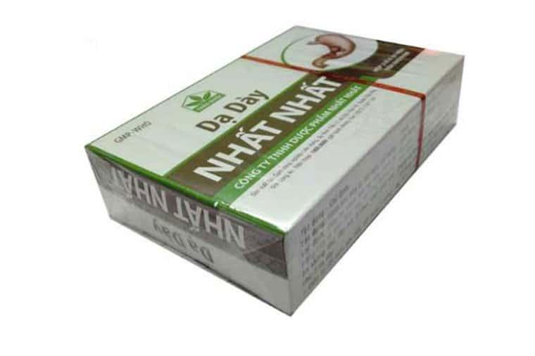 Giá thuốc da day nhất nhất đang được bán với giá từ 125.000 – 140.000 vnđ/ hộp