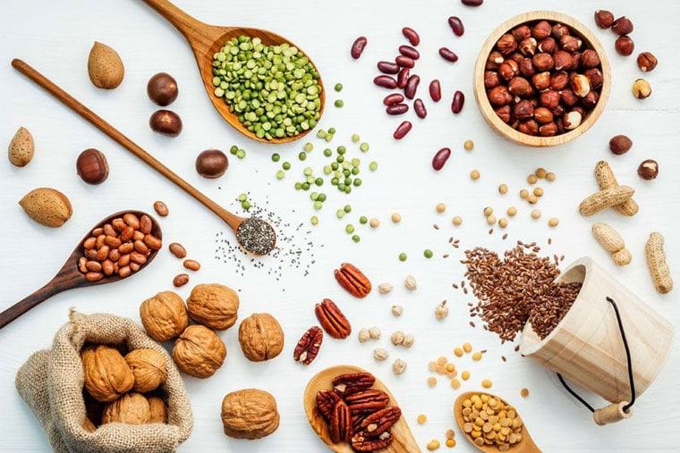 Bệnh nhân chàm khô nên ăn các loại hạt giàu dinh dưỡng