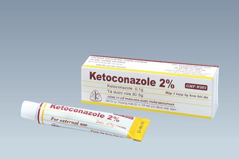 Kem bôi ketoconazole 1-2%