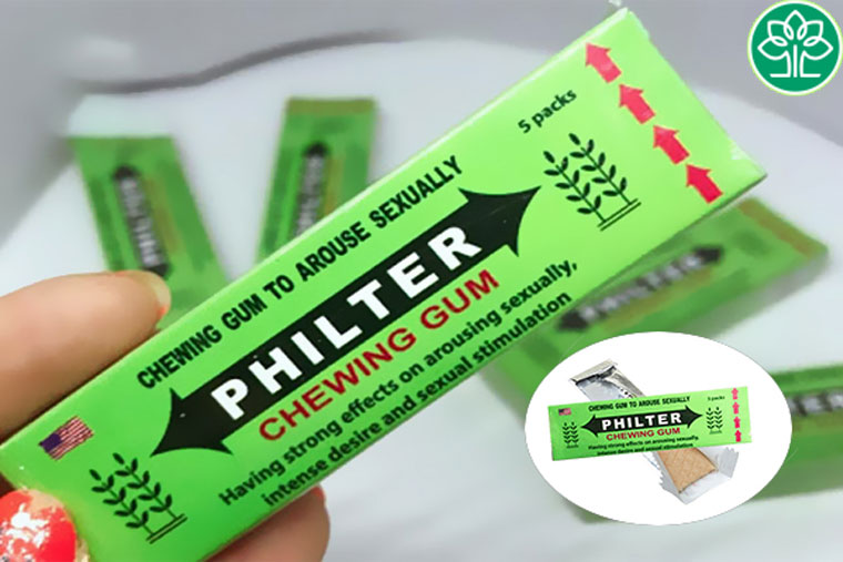 kẹo Singum Philter hiệu quả sau 10 phút