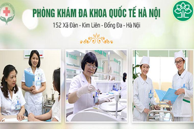 Hình ảnh khám chữa bệnh tại PK Đa Khoa QT Hà Nội