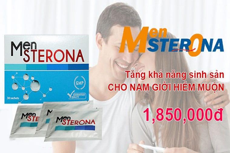 Mensterona tăng khả năng sinh sản ở nam giới