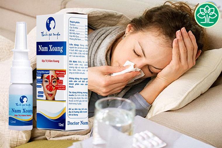 Thuốc trị viêm xoang Nam Hoàng