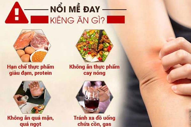 Người bệnh nên hạn chế một số thực phẩm dễ gây bệnh sau đây