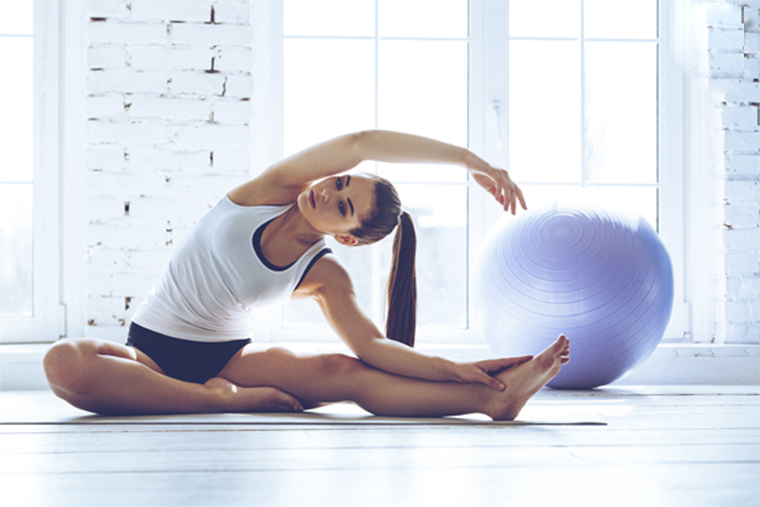 Tập thể dục nhẹ nhàng giúp giảm căng thẳng sẽ rất hiệu quả khi điều trị bệnh